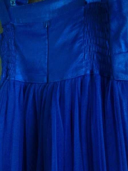 Синее длинное платье в Снежинске фото 5