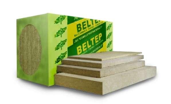 Утеплитель (минвата) Белтеп Фасад 110 в плитах: 1000х600х50
