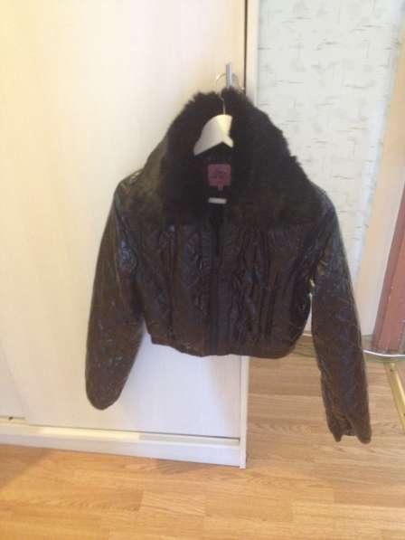 Куртка каротенкая