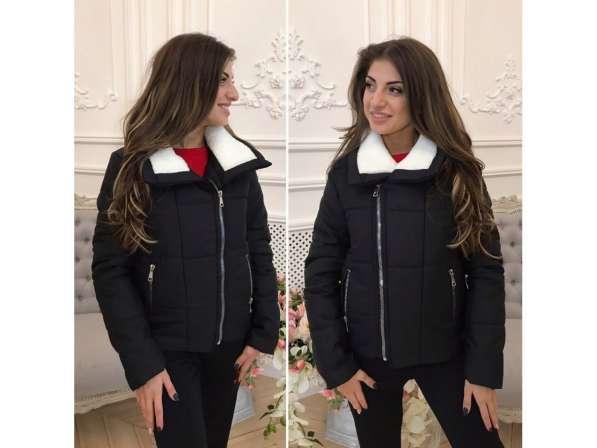 Куртка короткая утепленная большого размера