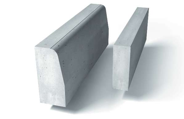 Бордюр бетонный камень