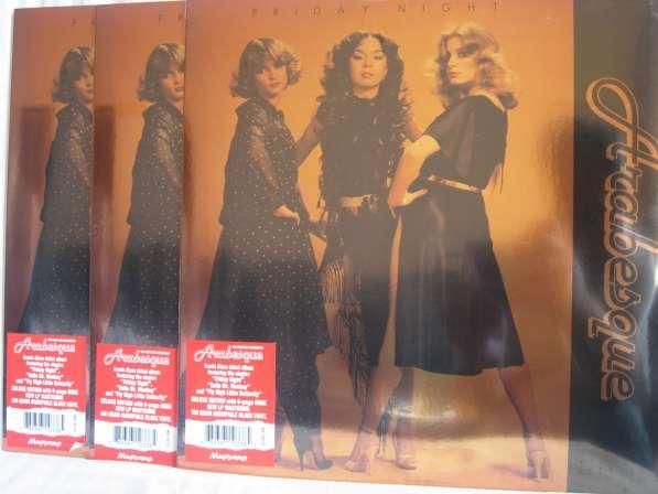 Arabesque Friday Night Запечатанные винил пластинки LP