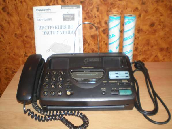 Телефон-факс Panasonic KX-FT21