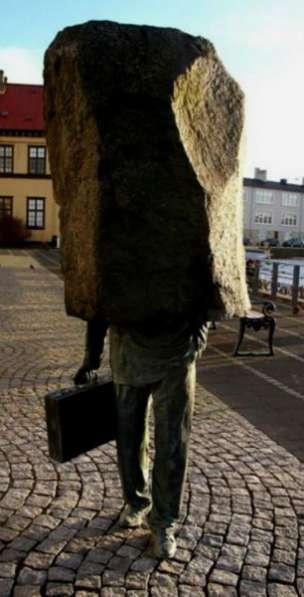 """скульптура""""Безликий чиновник&quot"""