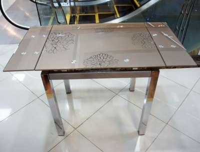 Стеклянный раздвижной стол Анжелика Китай А1726