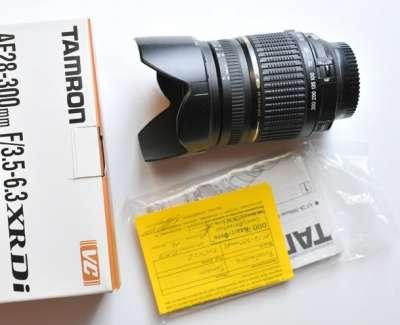 объектив Tamron AF 28-300 для Nikon