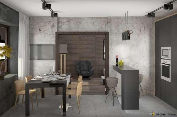 Дизайн интерьера комнаты, квартиры, дома. Уникальный стиль в Краснодаре фото 7