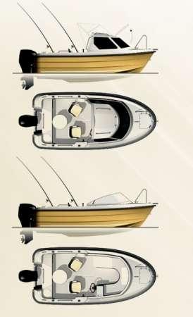 Продаем катер (лодку) Smartliner 17