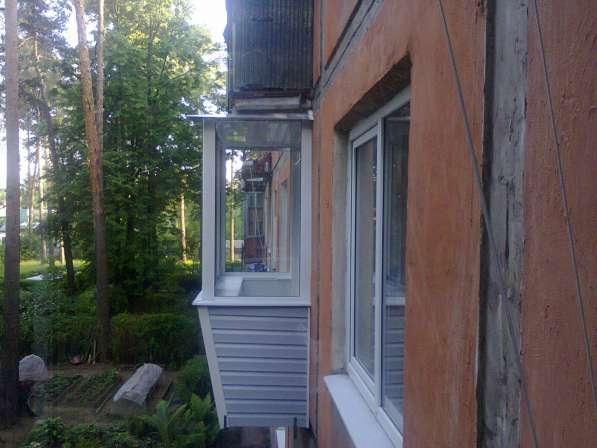 Остекление балконов и окон в Ногинске фото 5