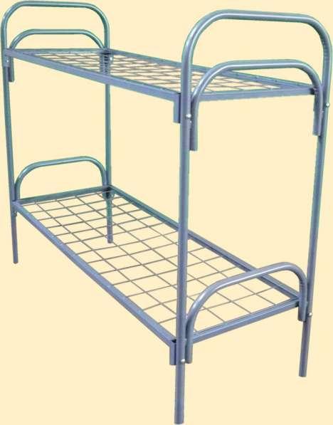 Металлические кровати для лагерей, рабочих, хостелов в Казани фото 6
