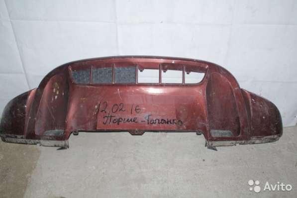 Юбка переднего бампера, Porsche Cayenne 958 Po16