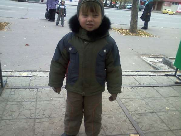 Зимняя одежда для мальчика 3-4-5 ле