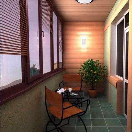 Ремонт и отделка балконов и лоджий