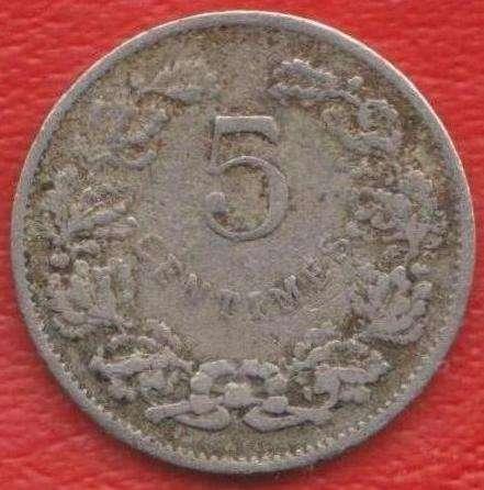 Люксембург 5 сантимов 1908 г