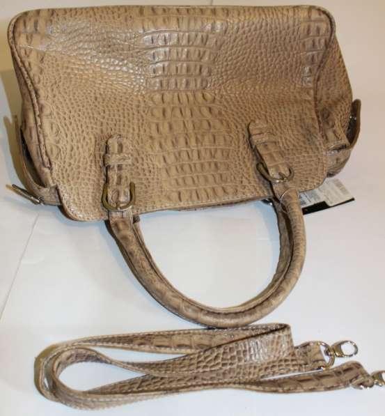 Новая сумка из кожи в Москве