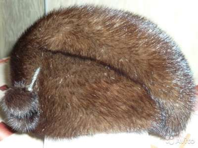 Шапка из норки размер 56-58