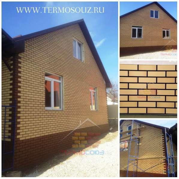 Фасадные клинкерные термопанели от производителя в Краснодаре фото 10