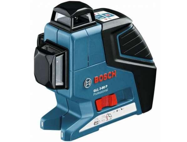 Нивелир лазерный Bosch GLL 3-80 P + BM1 + LR2 в L-Boxx 060106330A