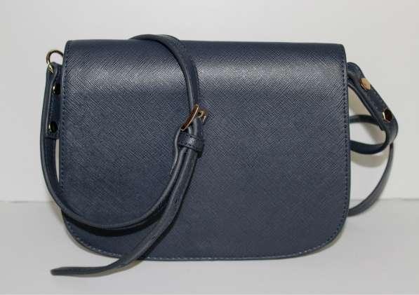 Новая синяя сумка MNG Violeta через плечо