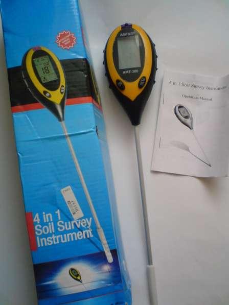 Продам тестер-измеритель t /ph /солнечный свет/ влажн