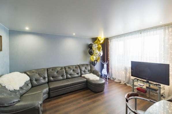 Светлая уютная квартира. Удачная планировка в Екатеринбурге фото 14