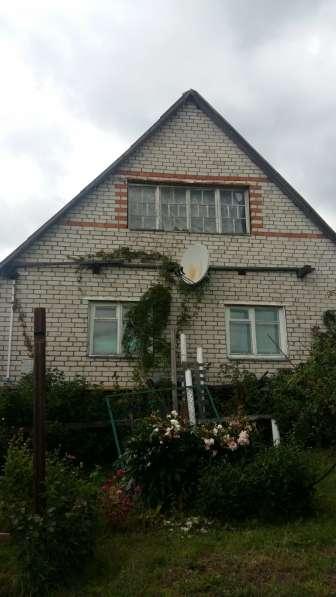 Дом-дача из бруса, обложен кирпичом. Московское направление в фото 13