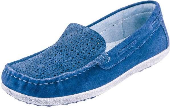 Туфли Котофей, синий Материал внешний: нат.кожа Материал вну