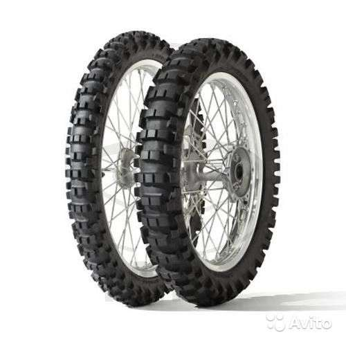 Новые Dunlop 80/100-21 51M