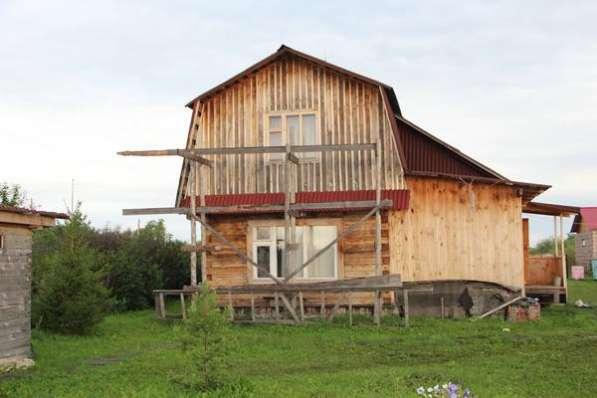 Продаётся земельный участок 8,6 сотки, 2-этажный дом 73 м²