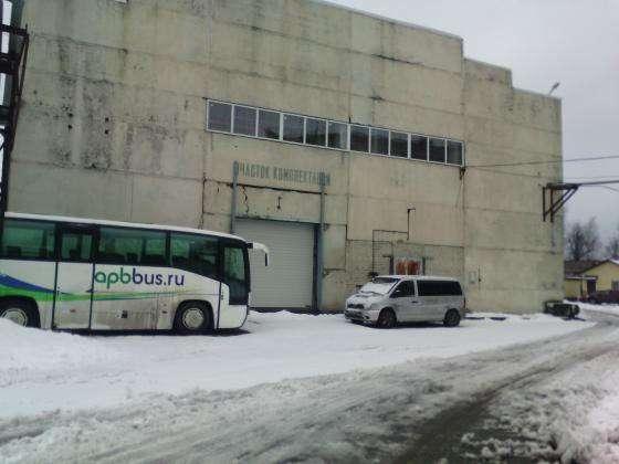 Производственно складская база в Санкт Петербурге