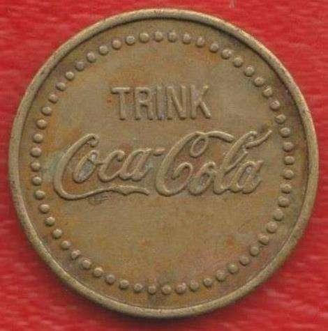 Жетон автомата по продаже Coca-Cola Германия
