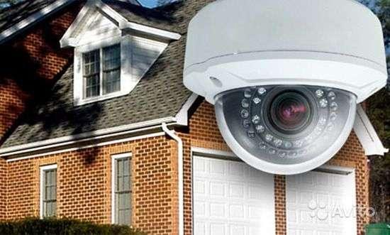 Профессиональный монтаж систем видеонаблюдения, домофонов