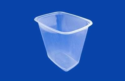 Прямоугольные пластиковые контейнеры с к