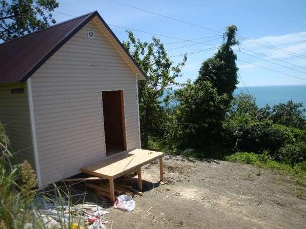 Новый домик с панорамой моря