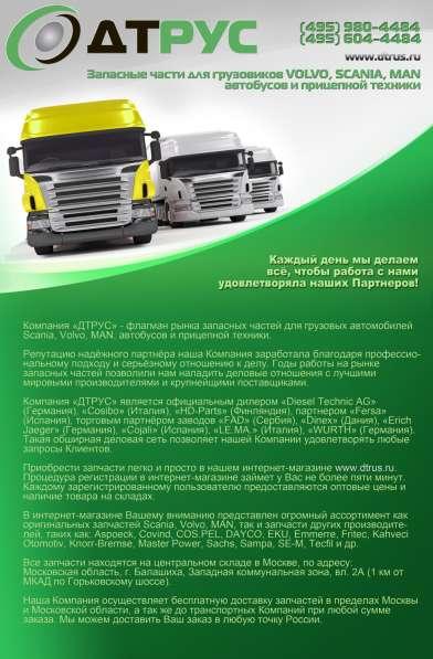 Запасные части на грузовые авто(европа) в Чите