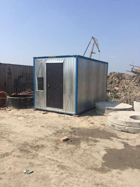 Бытовка, строительная опалубка по работе с бетоном