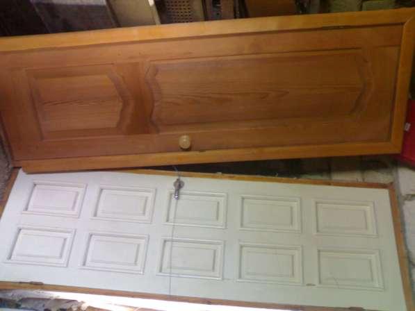 Деревянная дверь с коробкой (новая и б/у)