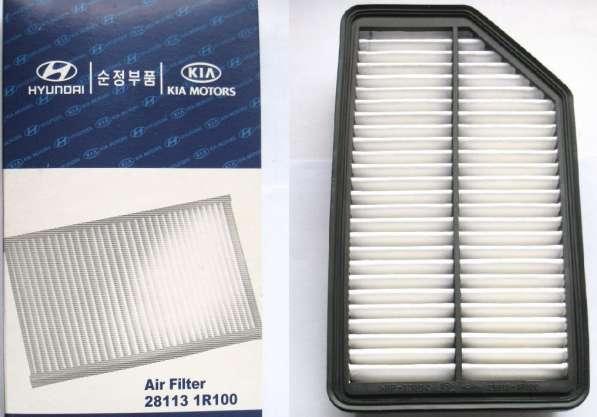Фильтр воздушный Hyundai Solaris/KIA Rio 281131R100 оригинал
