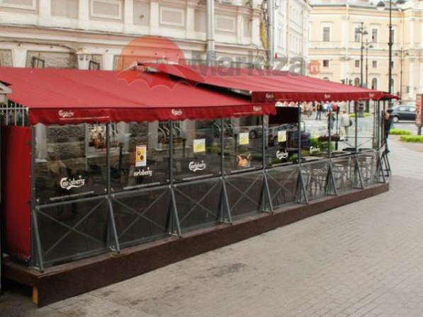 Шторы для веранд кафе и ресторанов