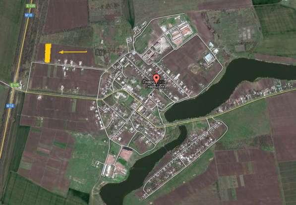 Участок під забудову в с. Гнаровське біля Запоріжжя