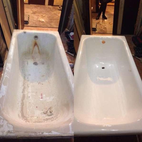 Реставрация ванн в Липецке и области
