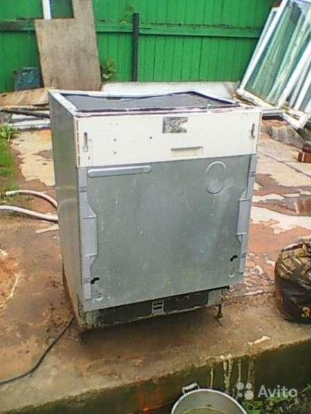 Посудомоечная машина с небольшим дефектом