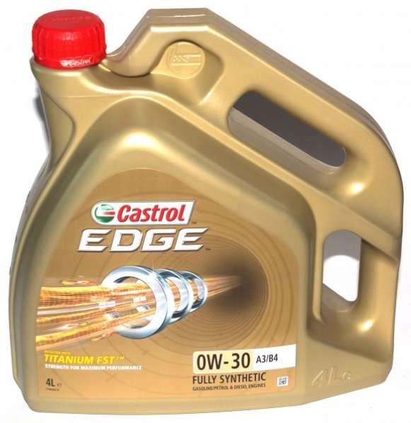Масло CASTROL EDGE 0W30 A3/B4 TITANIUM FST 4 л синтетическое