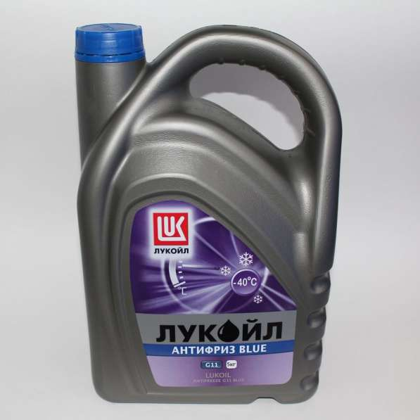 Антифриз Лукойл G-11 синий 5 литров
