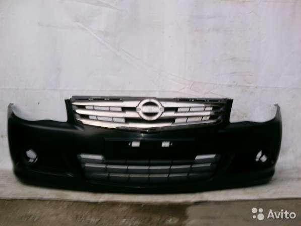 Бампер перед и решетка радиатора Nissan Almera G15
