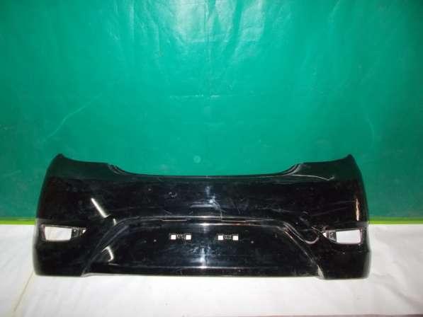 Задний бампер на Hyundai Solaris х/б