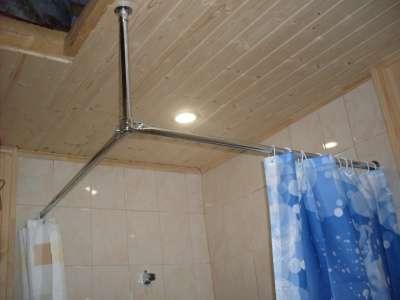 Карниз для ванной комнаты