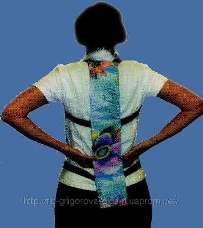 Боль в спине?Шунгитовая накладка спинная