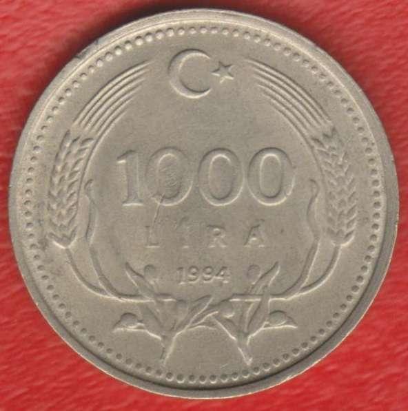 Турция 1000 лир 1994 г.
