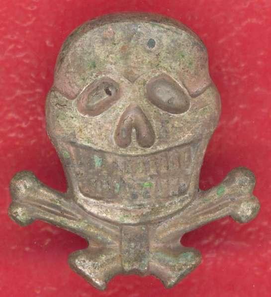 Германия 3 рейх Значок фрачный Мертвая голова ранний тип